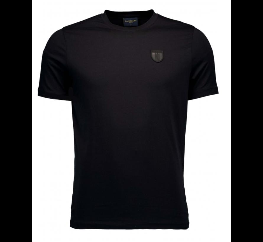 T-shirt Ronde Hals Napoli Zwart (117211010-999000)