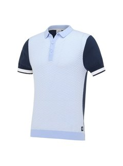 Blue Industry Polo Sky Blauw (KBIS21 - M23)