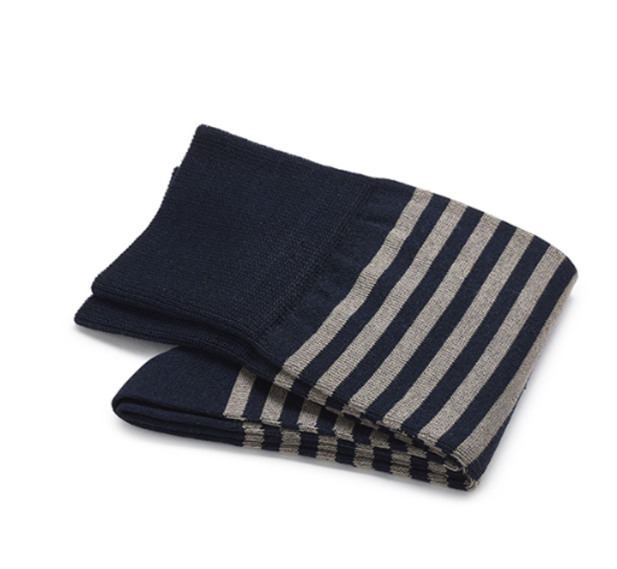 Sokken Katoen Donkerblauw (500-48)