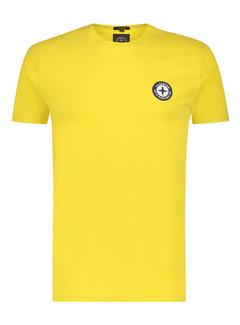 Haze&Finn T-shirt Ronde Hals Maize (MU15-0010 - Maize)