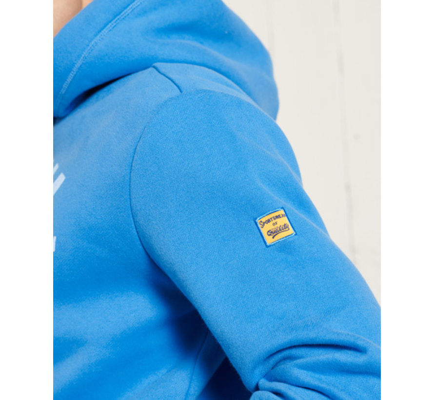 Hooded Sweater Neptune Blauw (M2010972A - AKY)