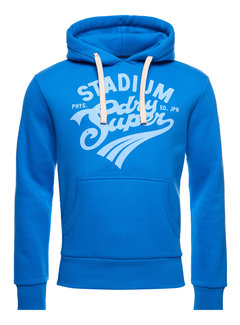 Superdry Hooded Sweater Neptune Blauw (M2010972A - AKY)