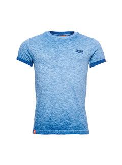 Superdry T-shirt Ronde Hals Blauw (M1010025A - 69H)