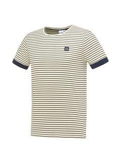 Blue Industry T-shirt Streep Groen (KBIS21 - M41)