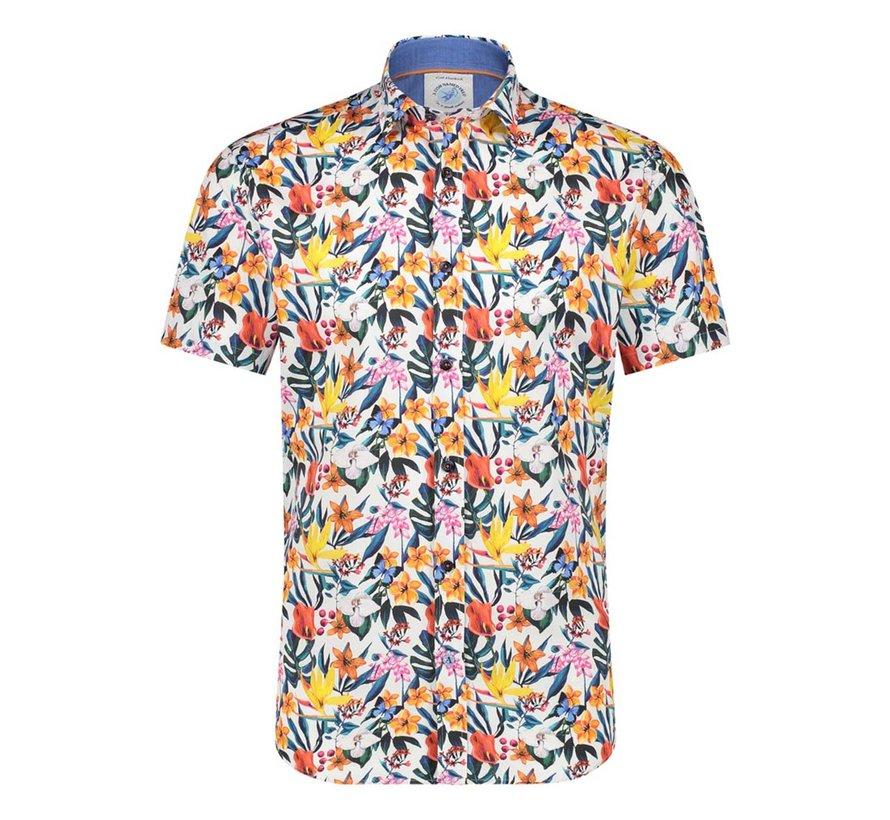 Korte Mouw Overhemd Multicolor (22.03.052)N