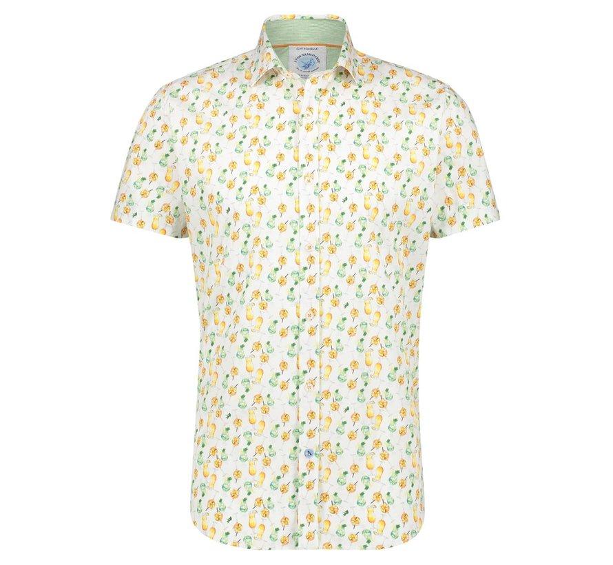 Korte Mouw Overhemd Multicolor (22.03.062)N