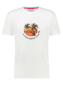 A Fish Named Fred T-Shirt Fishing White (22.03.427)