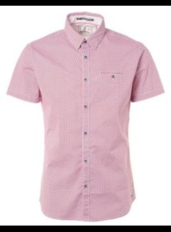 No Excess Overhemd Korte Mouw Rood (91490507 - 060)