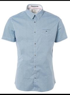 No Excess Overhemd Korte Mouw Blauw (91490507 - 132)