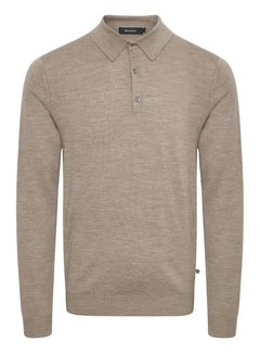 Matinique Half-Zip Sweater MAklint Khaki Melange (30205181 - 1711181)