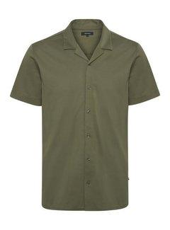 Matinique Overhemd Korte Mouw MAbenji Olijf Groen (30205245 - 190515)