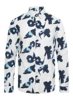Matinique Overhemd MArobo Print Wit (30205277 - 114001)