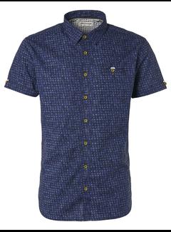 No Excess Overhemd Korte Mouw Night (95490206D - 078)
