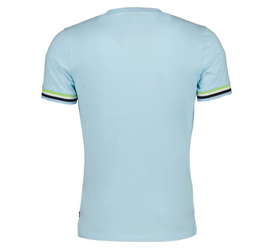T-shirt GELATO Licht Blauw (117211008-600000)