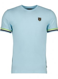 Cavallaro Napoli T-shirt GELATO Licht Blauw (117211008-600000)