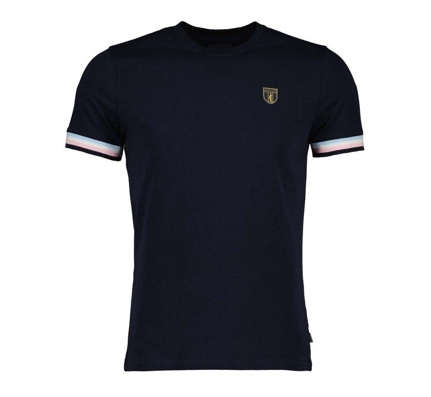 T-shirt GELATO Navy Blauw (117211008-699000)