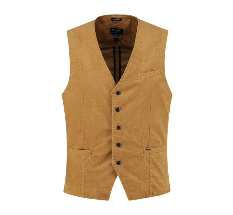 Gilet Wahed Ribcord Bronze (121120 - 305)