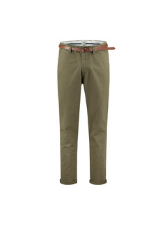 Dstrezzed Chino met Riem Presley Loose Fit Army Green (501328 - 511)