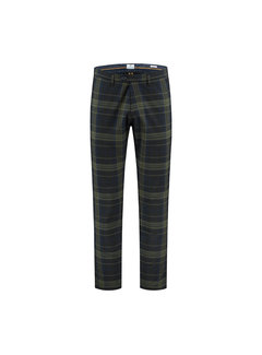 Dstrezzed Chino Pant English Check Dark Navy (501303 - 649)