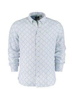 New Zealand Auckland Overhemd Lange Mouw Waimamaku Wit (21CN561 - 10)
