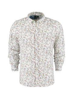New Zealand Auckland Overhemd Lange Mouw Taramakau Wit (21CN572 - 10)