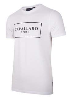 Cavallaro Napoli Stretch T-shirt Wit (117211007 - 100000)