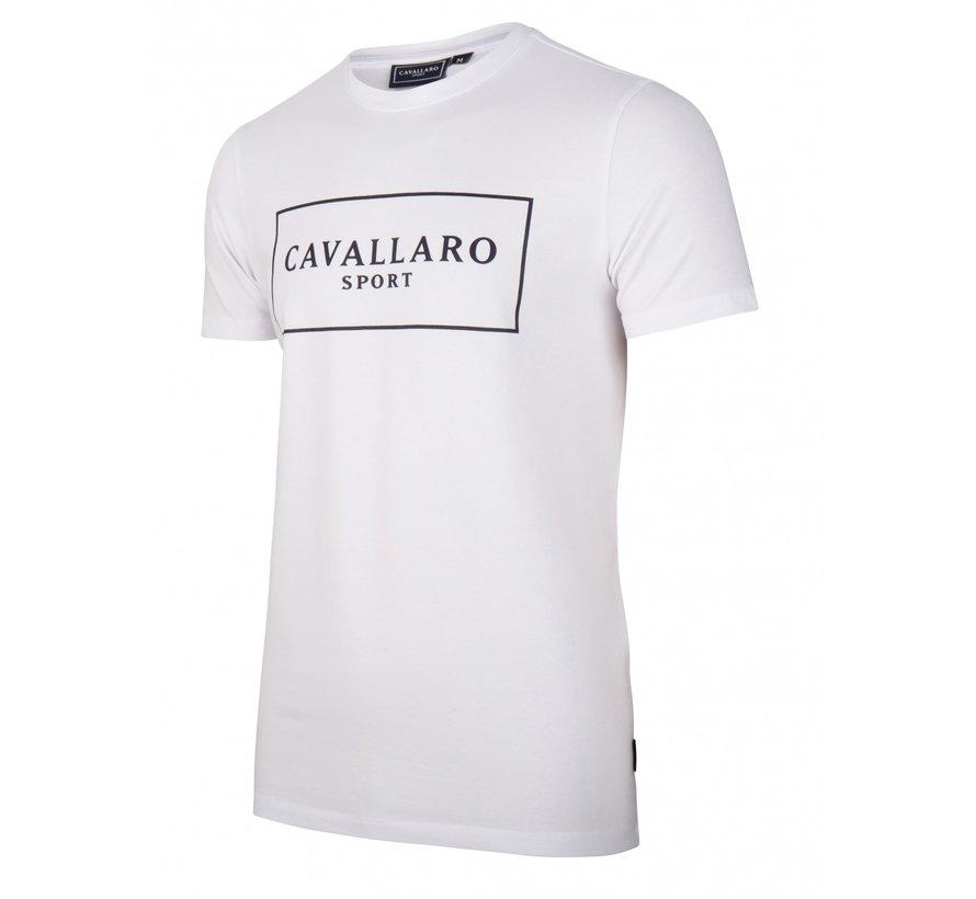 Stretch T-shirt Wit (117211007 - 100000)