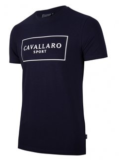 Cavallaro Napoli Stretch T-shirt Sport Navy (117211007 - 699000)