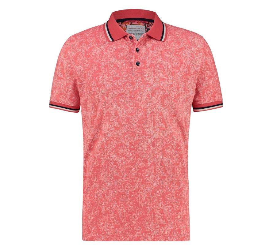 Polo Floral Pique Pink (22.03.330)