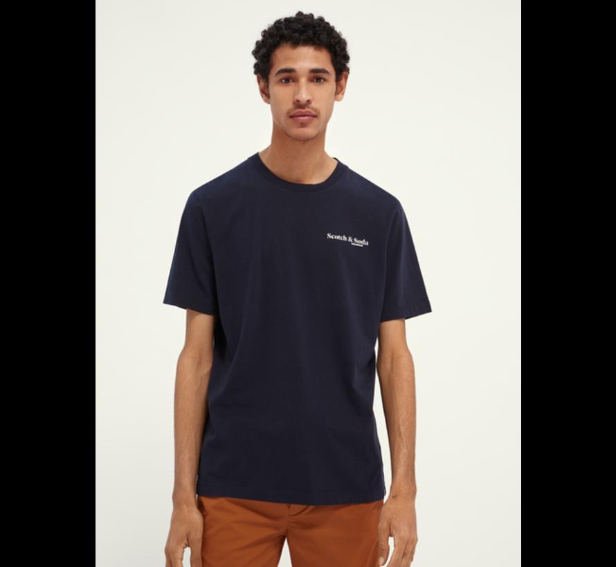 T-shirt Jersey Navy Blauw (162367 - 0002)