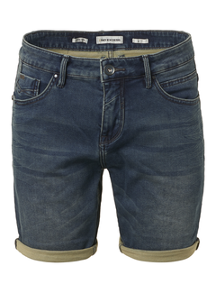 No Excess Jog Jeans Short Denim Blauw (958190301 - 220)