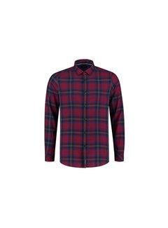 Dstrezzed Overhemd Ruit  Rood (351016D - 421)