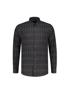Dstrezzed Overhemd Flanel Overhemd Groen (303266 - 524)