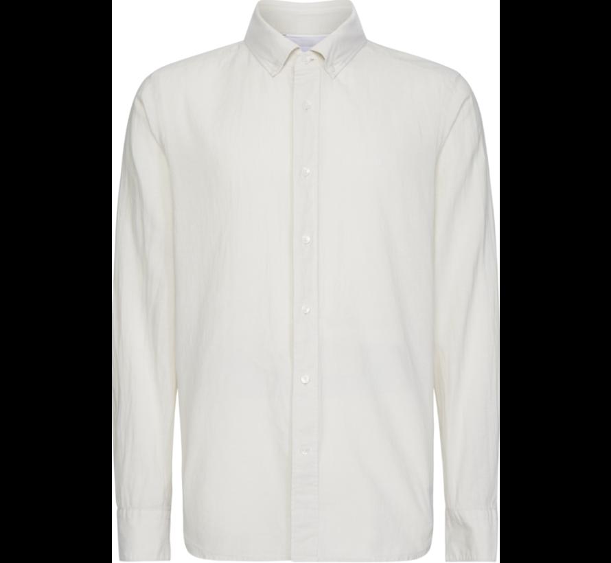 Overhemd Button Down Bleached Stone Beige (K10K105297 - AEV)