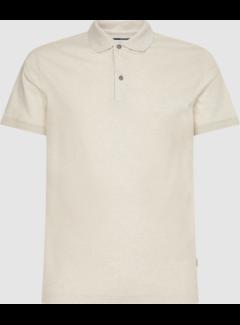 Calvin Klein Polo Korte Mouw Slim Fit Gemêleerd Beige (K10K107090 - ADK)