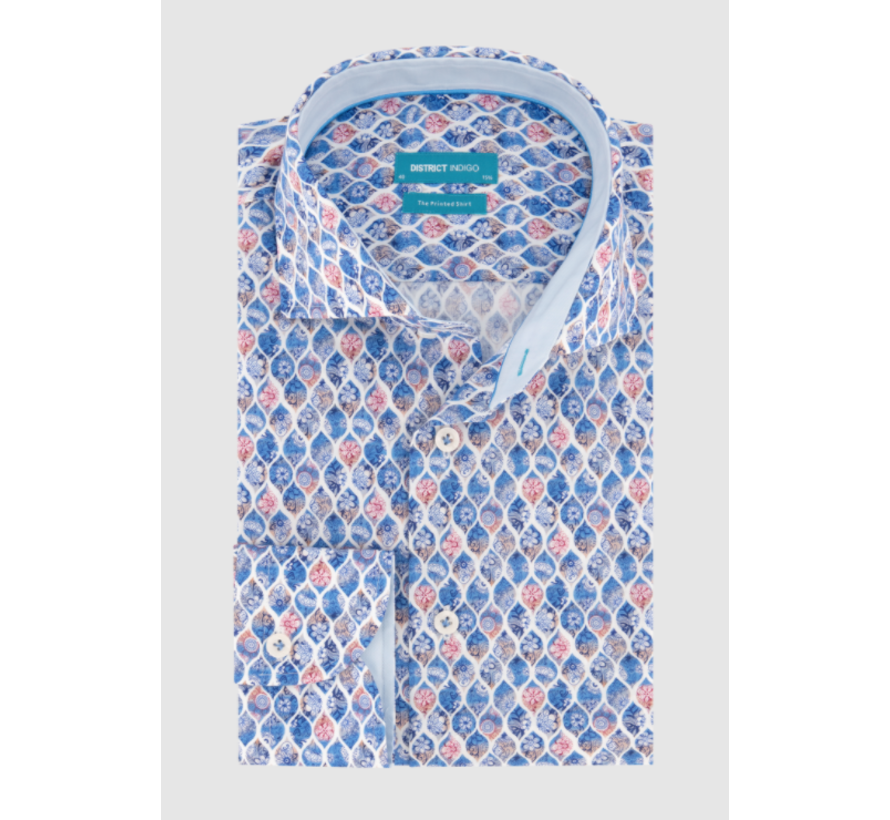 Overhemd Print (7.11.026.744 - 318)