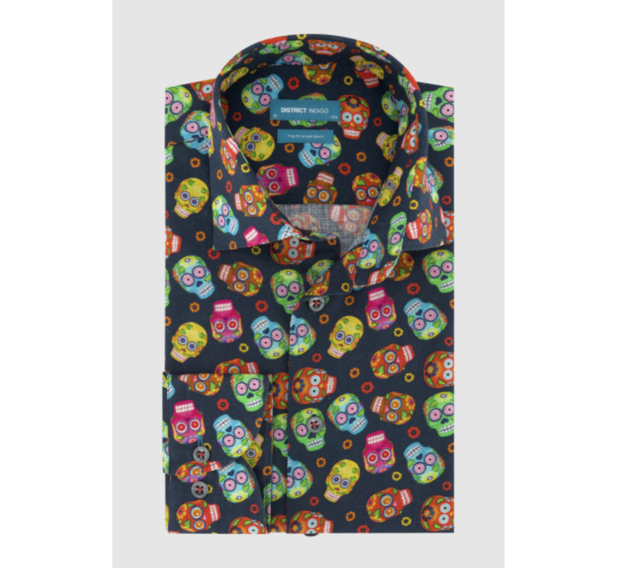 Overhemd Print Multicolor (7.11.045.740 - 310)