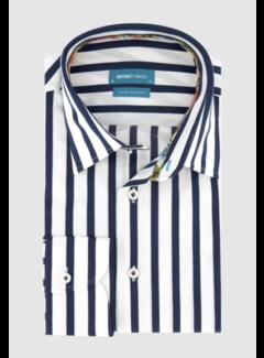 District Indigo Overhemd Streep Blauw (7.11.035.706 - 112)