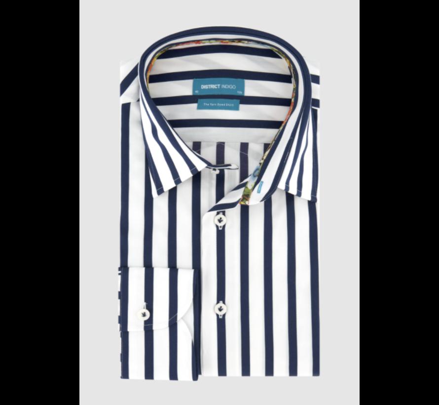 Overhemd Streep Blauw (7.11.035.706 - 112)