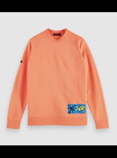 Scotch & Soda Sweater Raglan Felpa Oranje (160827 - 2747)