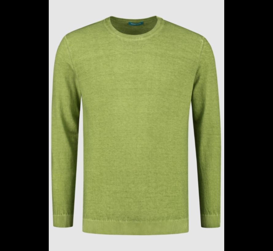 Pullover Ronde Hals Groen (7.11.501.501 - 078)