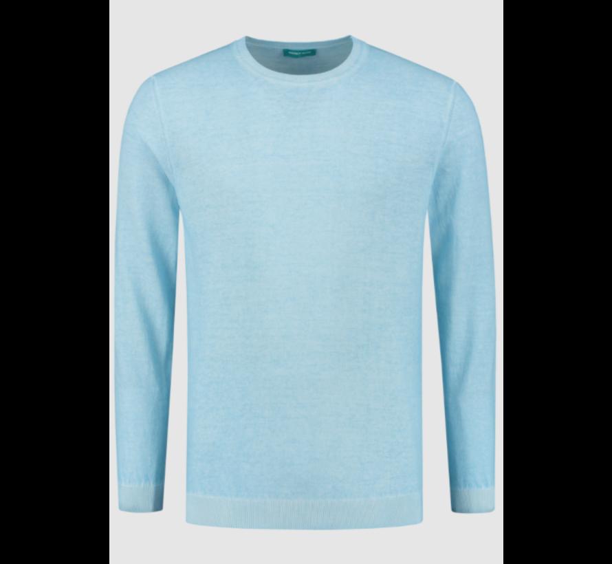 Pullover Ronde Hals Licht Blauw (7.11.501.501 - 017)