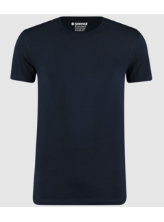 Garage Basic T-shirts 2-pack Bio Cotton Bodyfit Navy (0221 - 400)