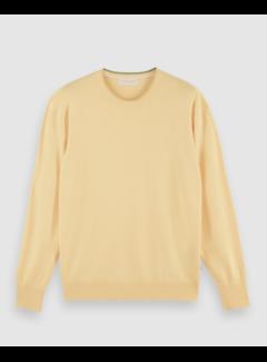 Scotch & Soda Sweater Ecovero Geel (160906 - 4214)