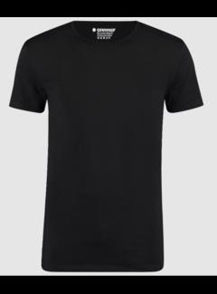 Garage Basic T-shirts 2-pack Bio Cotton Bodyfit Zwart (0221 - 200)