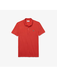Lacoste Polo Korte Mouw Slim Fit Rood (PH4012 - 67G)