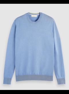 Scotch & Soda Sweater Ecovero Blend Blauw (160906 - 4206)