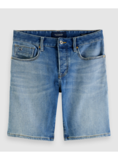 Scotch & Soda Short Ralston Denim Blauw (161196 - 4087)