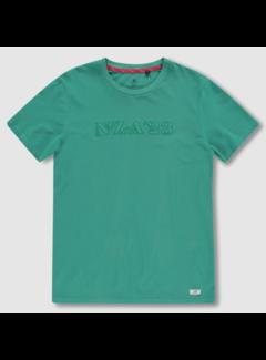 New Zealand Auckland T-shirt Ronde Hals Ranfurly Groen (20BN728 - 493)