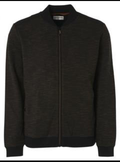 No Excess Vest Full Zip Double Face Zwart (97100904 - 020)